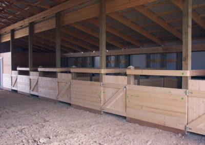 Horse Barn and Riding Arena 1