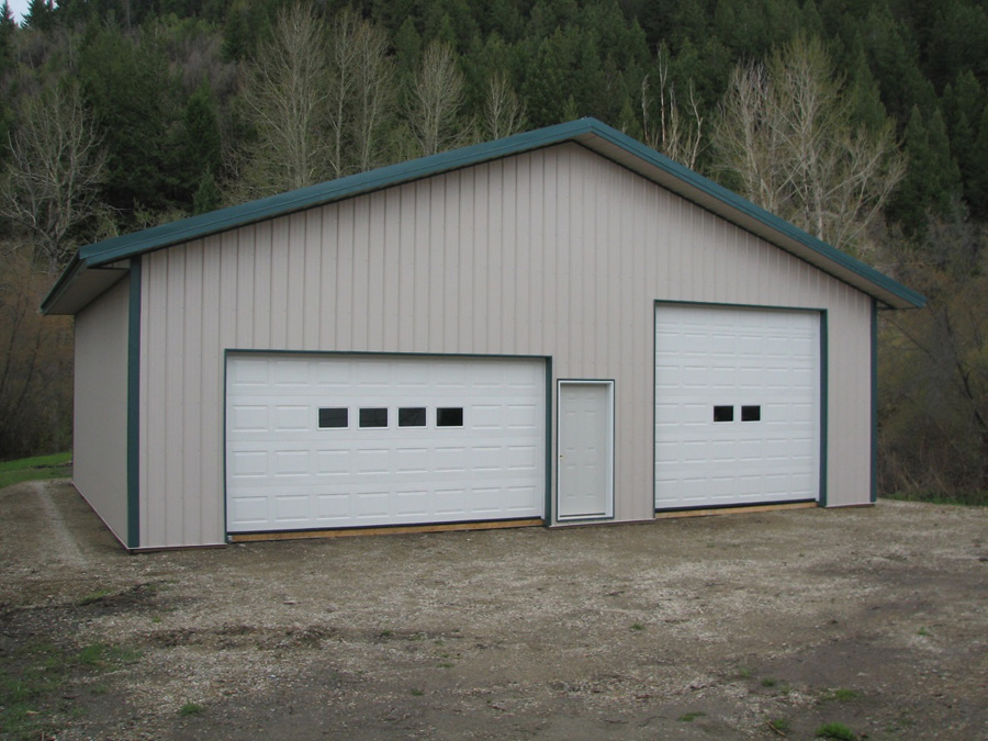 Garage shops h h custom buildings inc for Garage building estimator
