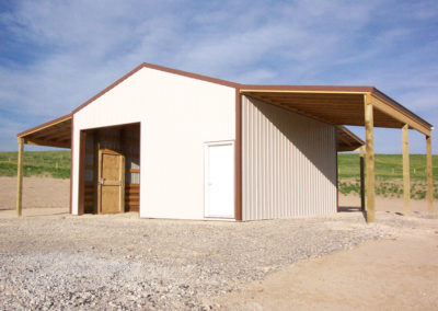 Horse Barn and Riding Arena 2