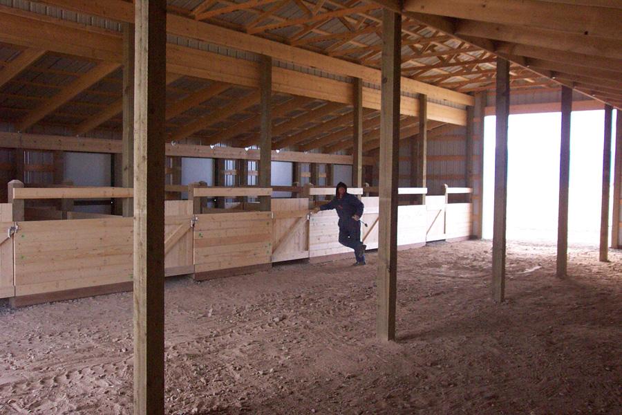 Horse Barns Amp Riding Arenas H Amp H Custom Buildings Inc